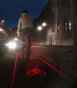 Night Bike Lane